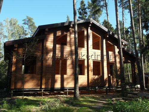 Дом из бруса Алтайского кедра 240х240мм
