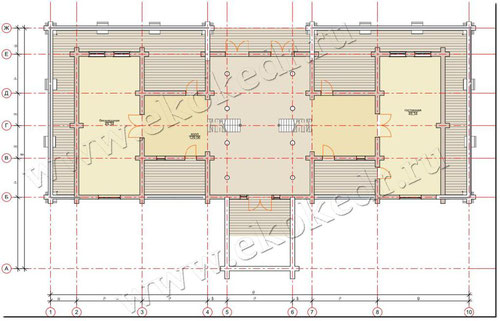 План 1-ый этаж