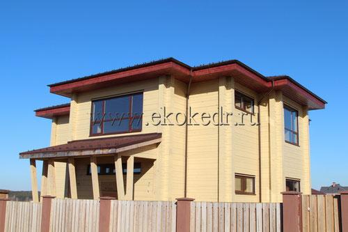 Дом из бруса Алтайского кедра 300мм.
