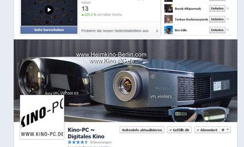 Heimkino-Berlin auf Facebook