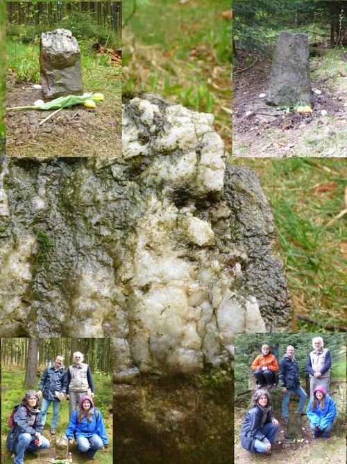 Steinsetzung Weilquelle im Taunus
