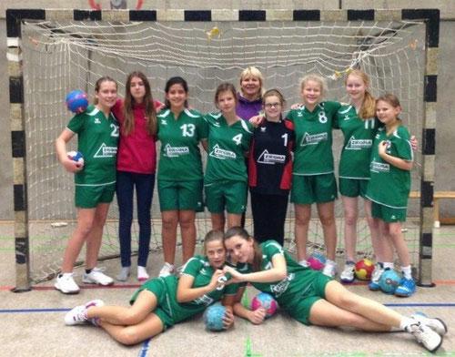 Die weibliche D-Jugend Saison 2013/2014