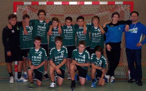 männliche B-Jugend Saison 2012/2013