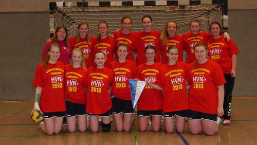 die Wiebliche A-Jugend sichert sich die Meisterschaft der Landesliga 2013