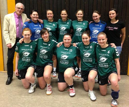 Das Team der 2.Damen Saison 2013/2014