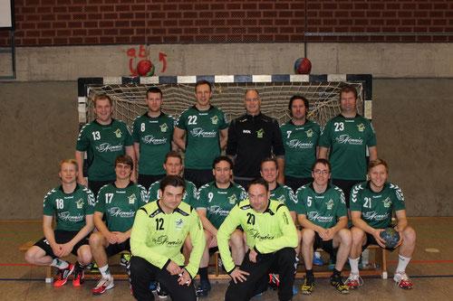 Das Team der 1. Herren vom TuS Altwarmbüchen Saison 2013/2014