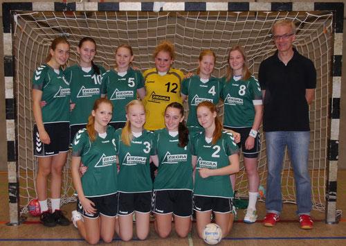 Weibiche B-Jugend Saison 2012/2013