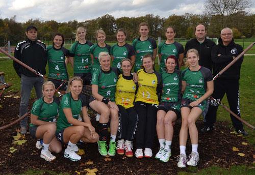 Mannschaftsfoto der 1. Damen Saison 2013/2014