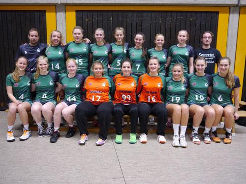 Das Team der weibliche A-Jugend TuS Altwarmbüchen Saison 2013/2014