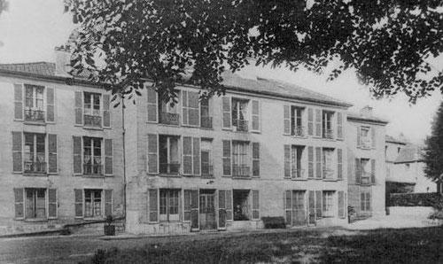 Le pavillon  Voltaire en 1895 (coté jardin)