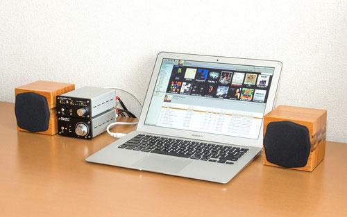 AS-100+、DS-200、パソコンと組み合わせた設置例