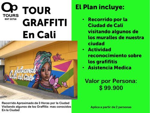 Tour Graffiti en Cali #CitutourCali