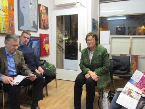 zu Gast in der Mittwochskultur am 26. Februar 2016: Frau Brigitte Zypries