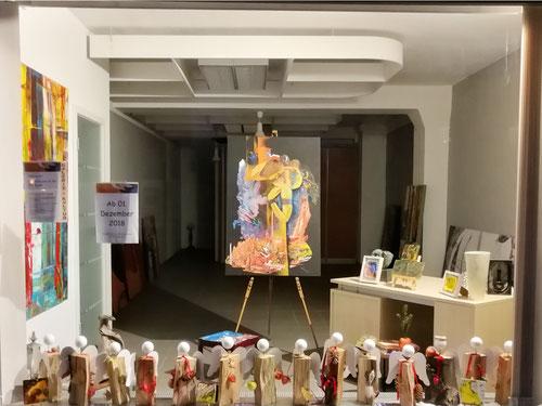 das erste Bild der neuen Galerie