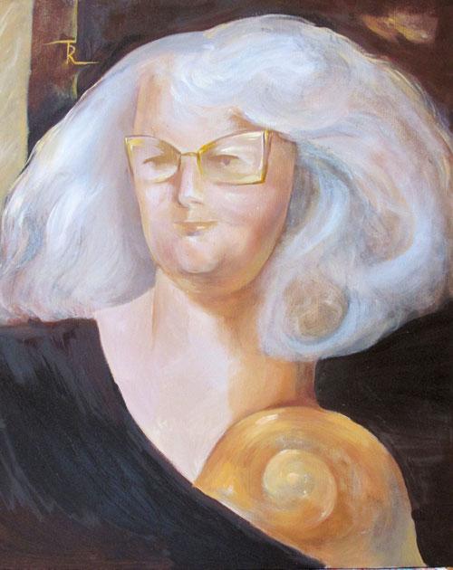 Maria Trautmann - Selbstportrait