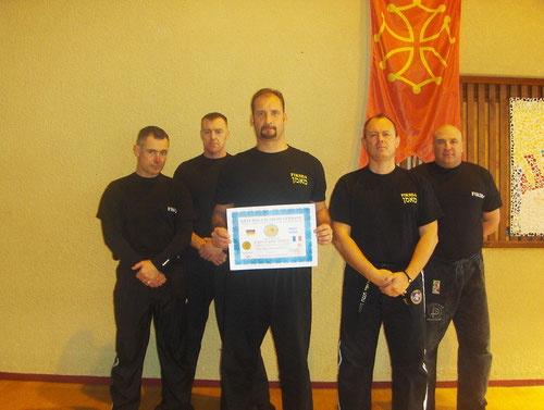 Christophe Salles / Krav Maga Advanced Level 1