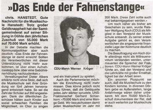 Nordheide Wochenblatt 05.02.1994