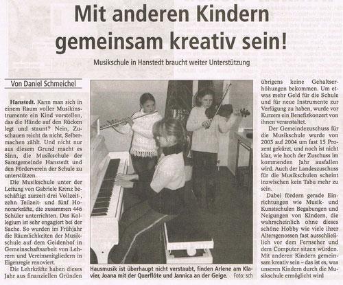 Winsener Anzeiger 21.10.2004