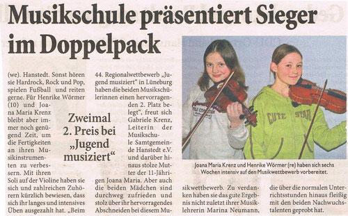 Unser Hanstedt März 2007