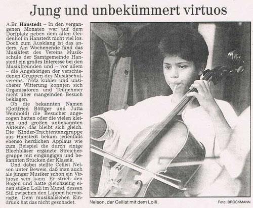 Harburger Rundschau 28.08.1995