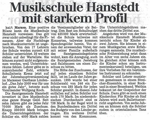 Winsener Anzeiger 29.03.2001