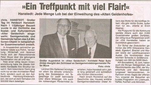 Nordheide Wochenblatt 10.06.1995