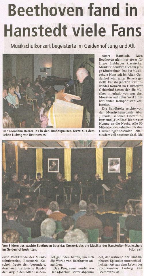 Winsener Anzeiger 27.11.2006