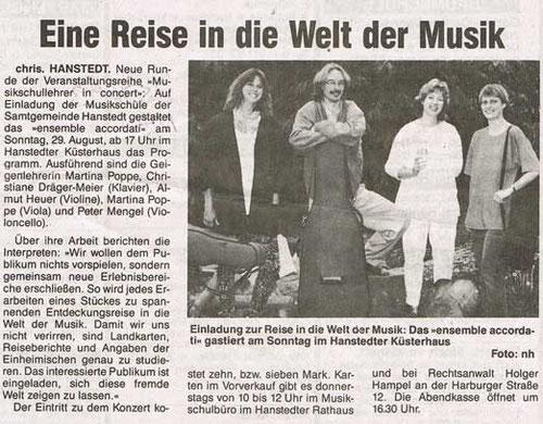 Nordheide Wochenblatt 25.08.1993