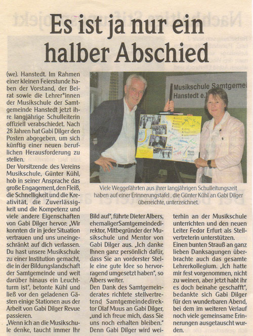 Unser Hanstedt September 2018