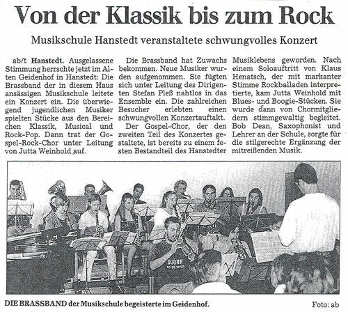 Winsener Anzeiger 23.07.1999