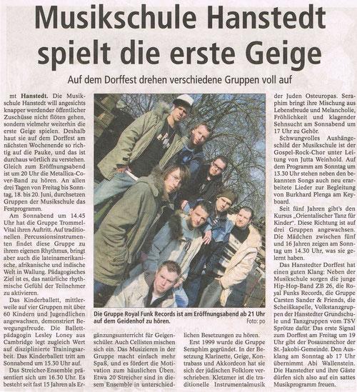 Winsener Anzeiger 15.06.2004