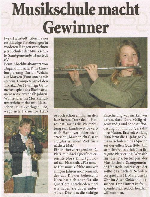 Unser Hanstedt März 2009