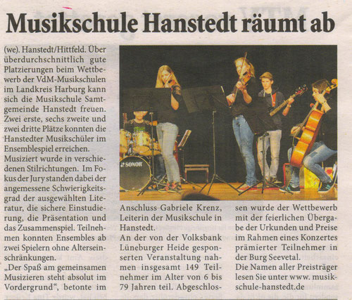 Unser Hanstedt April 2014