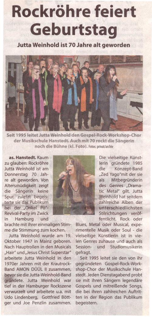 Nordheide Wochenblatt 21.10.2017