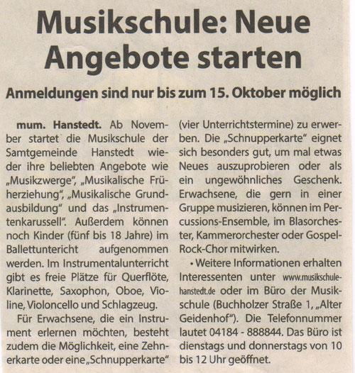 Nordheide Wochenblatt 26.09.2018