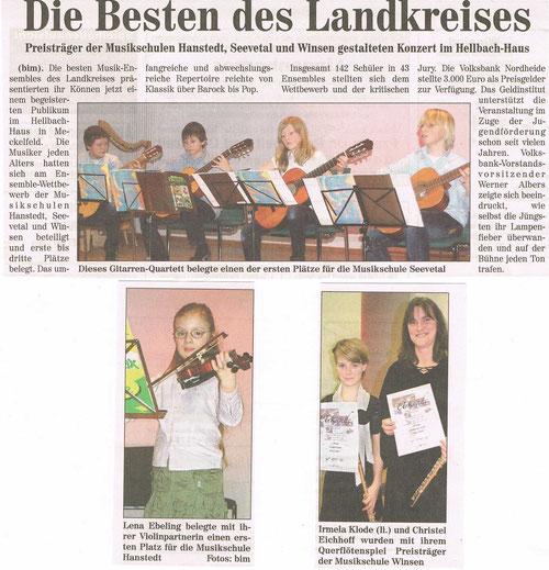 Nordheide Wochenblatt 03.03.2010