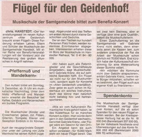 Nordheide Wochenblatt 29.11.1995