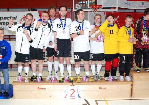 2. Platz European Floorball Masters