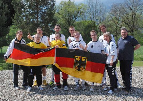 Bei den European Floorball Masters  Austria/Lichtenstein