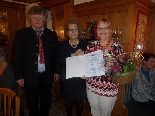 Kon. gerhard Fitzinger, Klauida Rahofer, Anita Brenneis