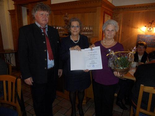 Kon. Gerhard Fitzinger, Klaudia Rahofer, Maria Brenneis