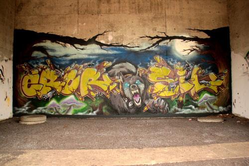 Graffiti Meckelfeld