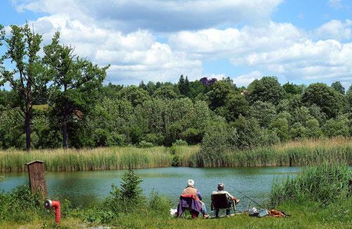 Entspannung beim Angeln (Walkenried/Harz)