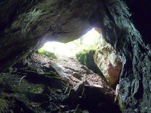 Höhle bei Zorge/Südharz