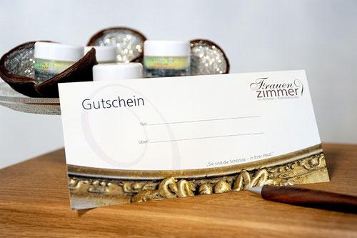 Gutschein Kosmetikstudio Frauenzimmer Würzburg