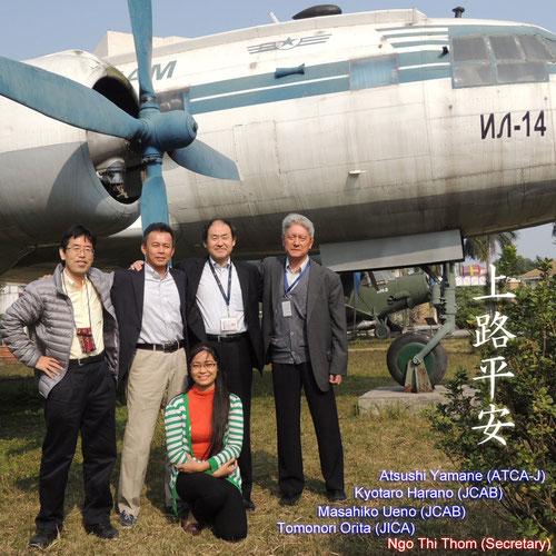 Japanese Long-Term Expert Team (2nd phase member) / December 2013 in Hanoi