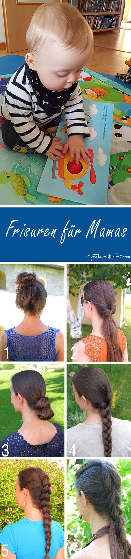 Frisuren für Mamas, Mama Frisur