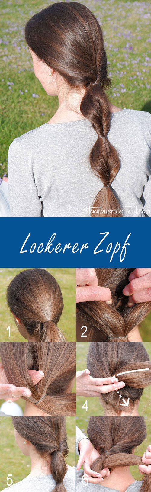 Zopf lange Haare, Zopf lange Haare einfach, lange Haare Zopf