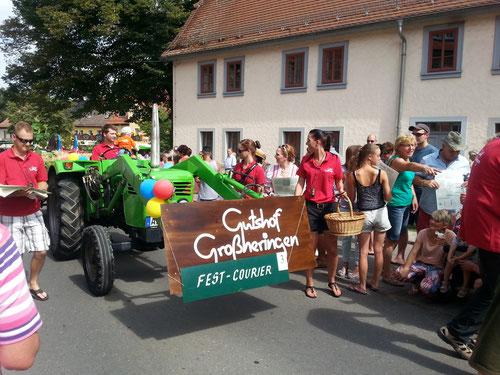 Weinfest, Gutshof Grossheringen