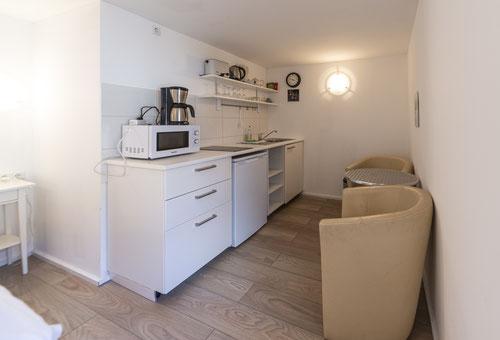 Küchenzeile in der Haferkammer